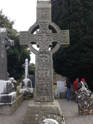 Monasterboice-Celtic Cross Bible 3
