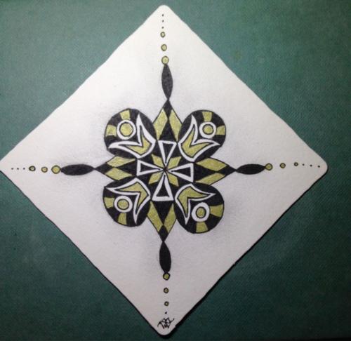 Aztec Snowflake